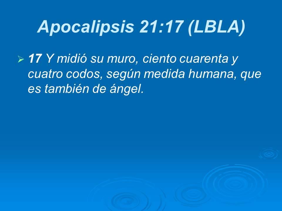 Resultado de imagen para APOCALIPSIS 21:17